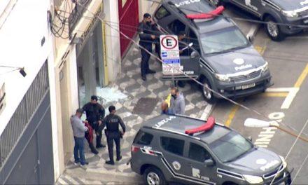 Tentativa de roubo a banco deixa dois suspeitos mortos e um PM baleado em SP