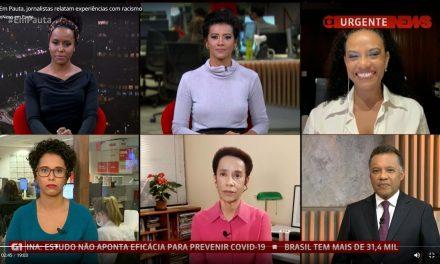 Jornalistas negros debatem questão racial em programa histórico na GloboNews