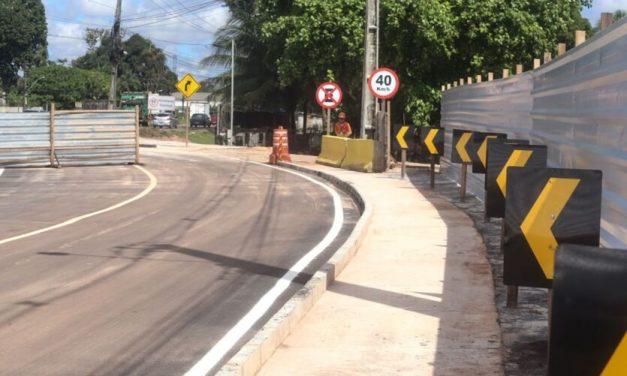 Tráfego em Marituba será desviado para construção de túneis