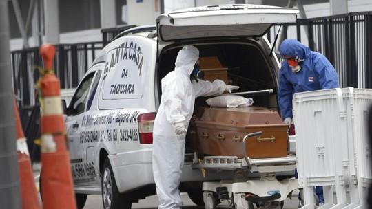 Número de mortes no Brasil passa o da Itália e chega a 34.021; país agora é o 3º do mundo com mais óbitos