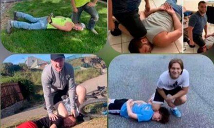 """""""Brincadeira"""" com morte de George Floyd causa revolta nas redes sociais"""
