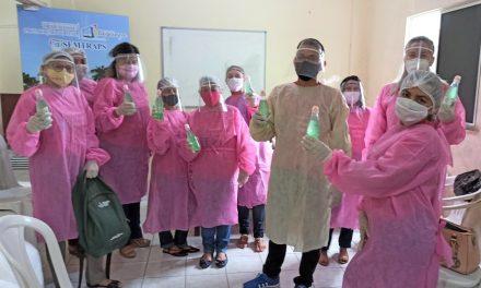 Programa Criança Feliz realiza visitas de forma gradual durante a pandemia do Covid-19
