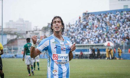 Em postagem do atacante Nicolas, perfil do Paysandu provoca o Remo: 'Com trauma'