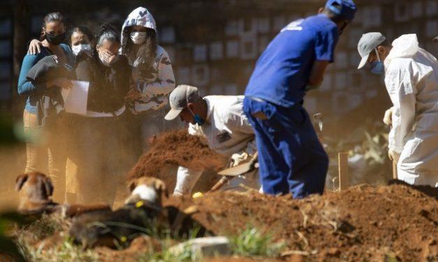 Número de enterros cresce 69% em SP em maio, diz levantamento
