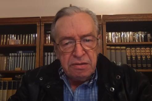 Em vídeo, Olavo de Carvalho ameaça derrubar governo de Bolsonaro