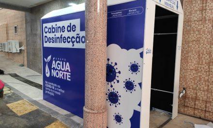 Hospital Santo Antônio implanta cabine de desinfecção