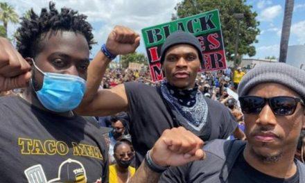 Astros da NBA lideram protestos contra racismo nos Estados Unidos