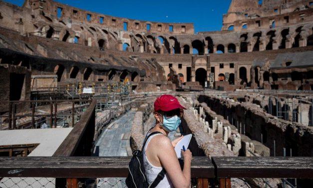 Itália tem maior número de novos casos de covid-19 em 6 dias