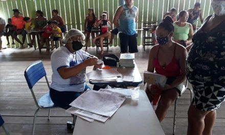 UBS de Carapajó realiza ação nas localidades de Gama e Capiteua