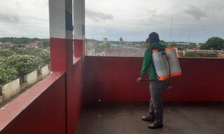 Bragantino-PA confirma retomada das atividades em julho e sede social passa por sanitização
