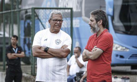 Hélio dos Anjos vê segurança para retomada dos treinos na Curuzu e pede 40 dias para preparar time