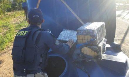 Três toneladas de maconha são apreendidas em caixa d'águas