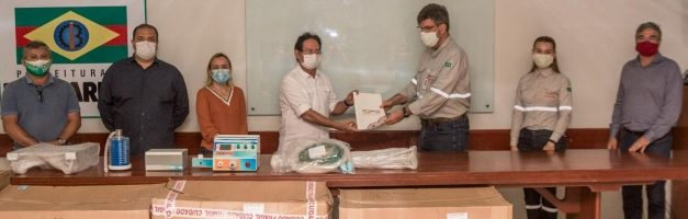 Barcarena recebe doação de 10 respiradores