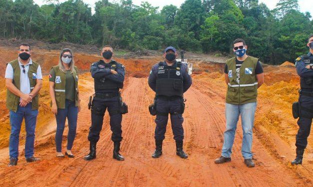 Prefeitura combate à extração irregular de minérios