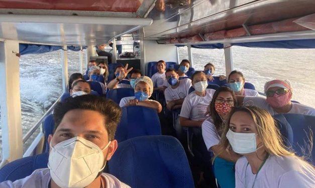Prefeitura realiza ação contra a covid-19 na localidade de Mapiraí