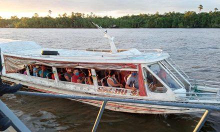 Prefeitura orienta e fiscaliza embarcações com passageiros