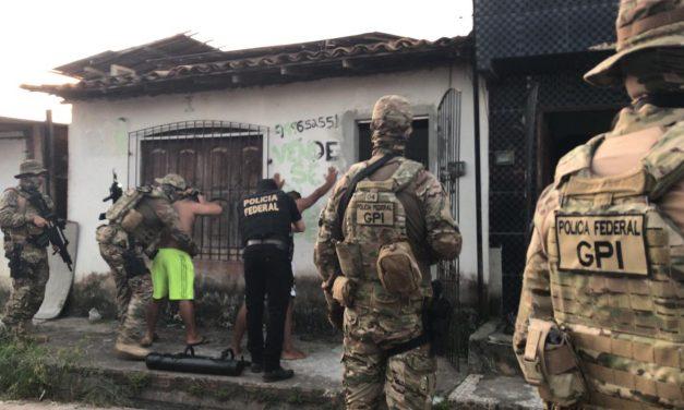 Operação da PF e Polícia Civil desarticula pontos de tráfico de drogas em Ananindeua
