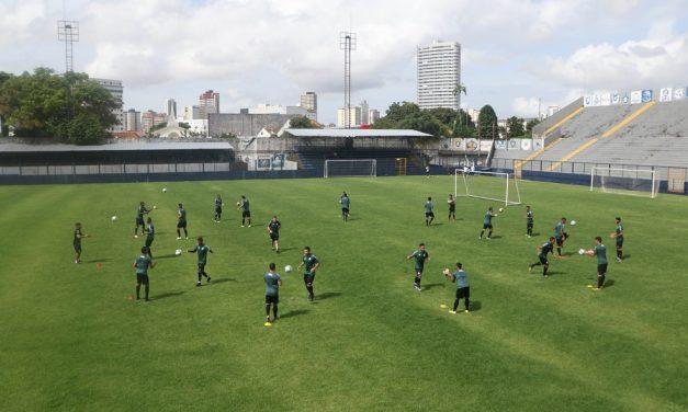 Jogadores do Remo retornam aos treinamentos presenciais na próxima quarta-feira, dia 1°