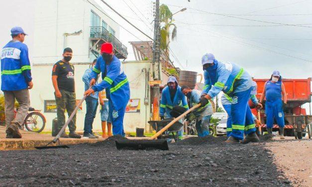 Santa Izabel recebe mais asfalto