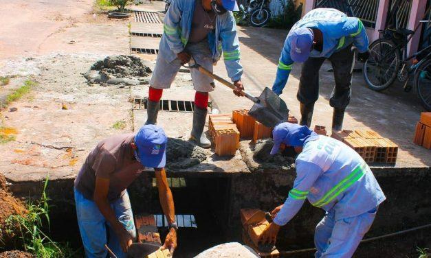 Prefeitura investe em drenagem evitar alagamentos