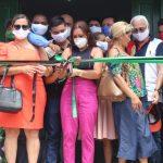 Prefeitura reinaugura Unidade Básica de Saúde (UBS) e realiza Ação Itinerante em combate ao coronavírus na Vila Elim