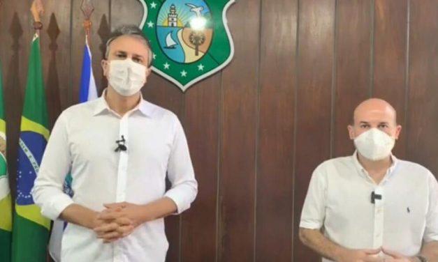 Governador Camilo Santana recusa convite para estar com Bolsonaro no Ceará