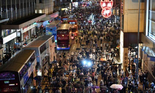 Polícia de Hong Kong proíbe manifestação contra Lei de Segurança