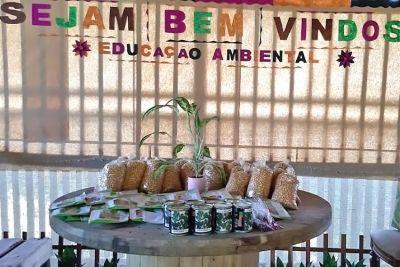 Doação de alimentos e sementes beneficia famílias do Projeto Quintais Produtivos
