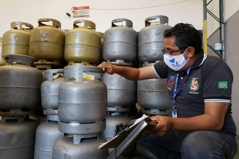 Procon Pará autua distribuidoras de gás na capital paraense