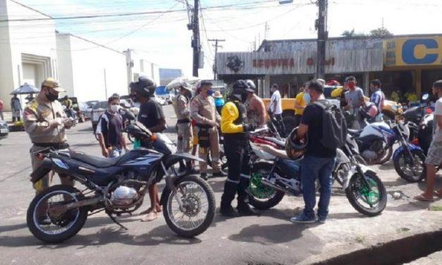 Órgãos municipais e estaduais realizam operação volante de fiscalização em Castanhal