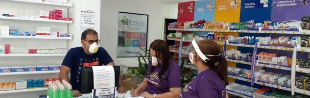 Farmácias aderem à campanha sinal vermelho