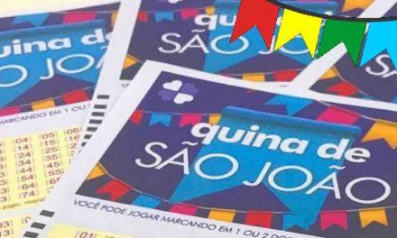 Quina de São João: cinco apostas dividem prêmio recorde de R$ 152,5 milhões