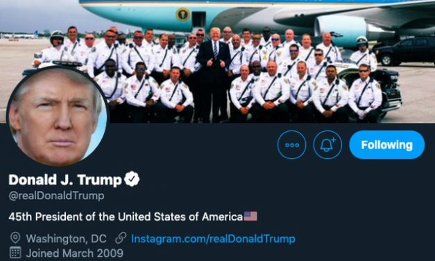 "Trump retuita e depois apaga vídeo de apoiador gritando ""white power"""
