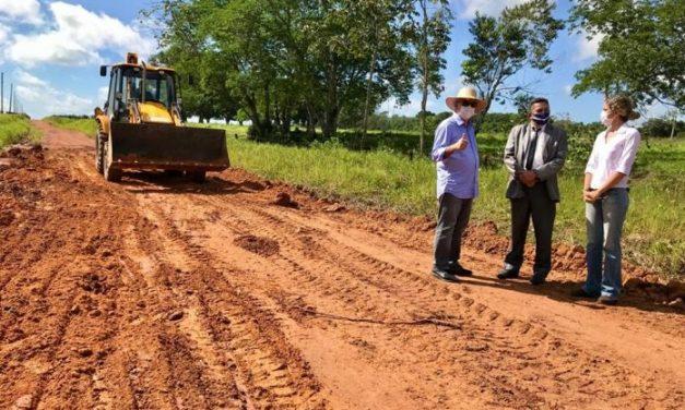 Prefeitura de Castanhal inicia a recuperação do ramal da agrovila de bacabal