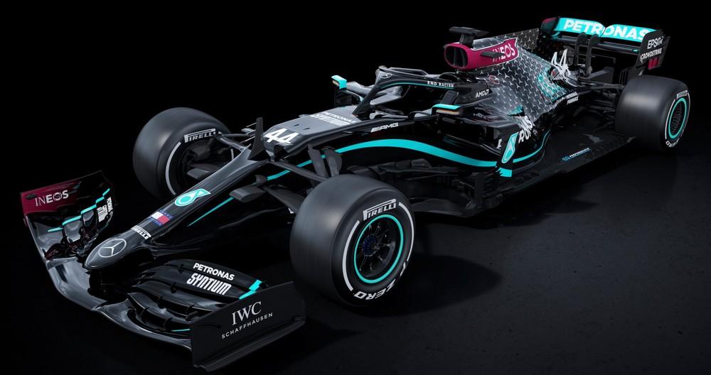 Mercedes passa a ter carro pintado de preto na F1 para marcar posição contra o racismo