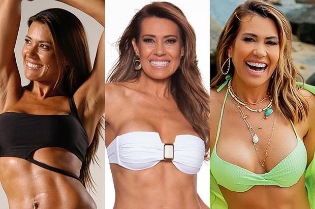"""Solange Frazão mostra evolução do corpo em 20 anos: """"Decisões certas"""""""