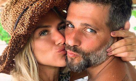 """Gagliasso compartilha clique de esposa na reta final da gravidez: """"Ela, o sol e o verde"""""""