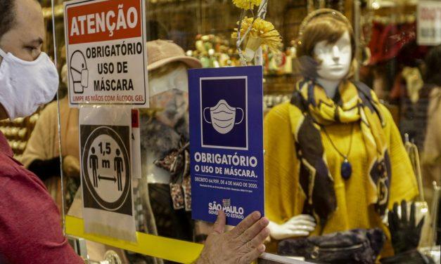 Multa para quem desrespeita uso de máscara passa a valer hoje em São Paulo
