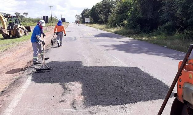 Seis rodovias do nordeste paraense recebem obras de conservação