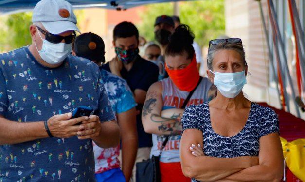EUA batem recorde com 57.683 novos casos de Covid-19 em 24 horas