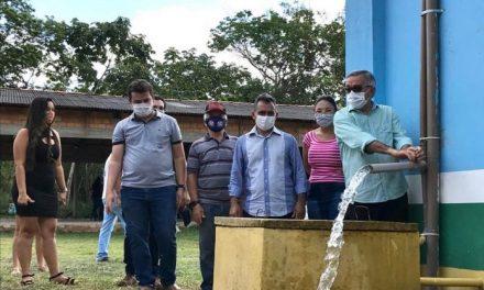 Agrovila São Sebastião recebe novo Sistema de Abastecimento de água
