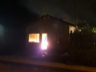 Polícia procura homem que incendiou casa da ex-companheira em Moju