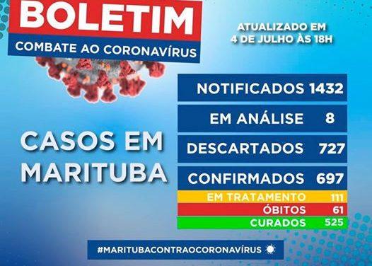 Prefeitura divulga mais um boletim epidemiológico do novo coronavírus