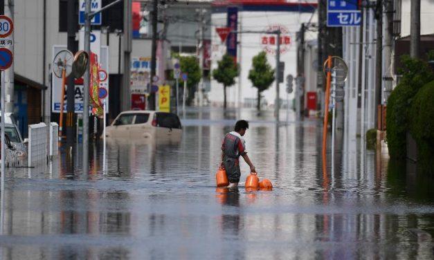 Japão emite novos alertas para chuvas, e o número de mortos sobe a 54