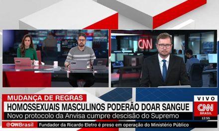 Na CNN, comentarista distorce pesquisa sobre gays com HIV e é chamado de homofóbico