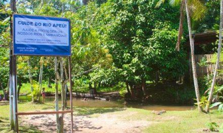 Distrito do Apeú comemora 137 anos com ações de Arborização e Educação Ambiental