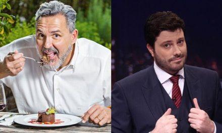 """Danilo Gentili perde a paciência com ex-jurado do Bake Off Brasil: """"Escroto"""""""