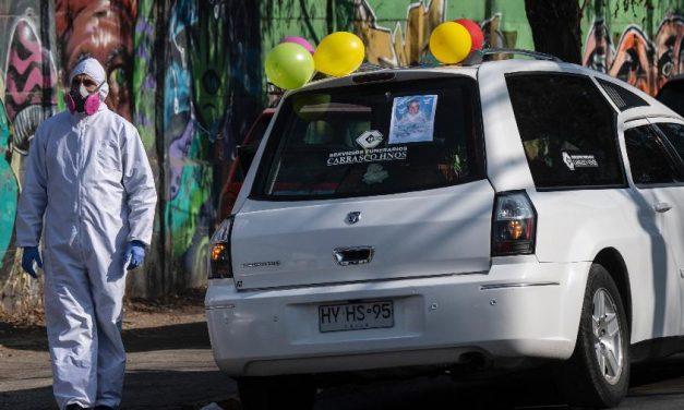 Chile tem mais de 3 mil novos casos de coronavírus nas últimas 24 horas