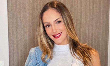 Filho de Claudia Leitte desmente a mãe ao vivo: 'Você nunca fez isso'