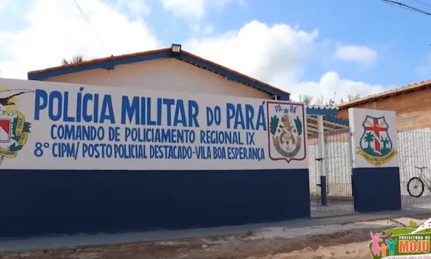 Prefeitura reinaugura posto policial na Vila Boa Esperança/Km50